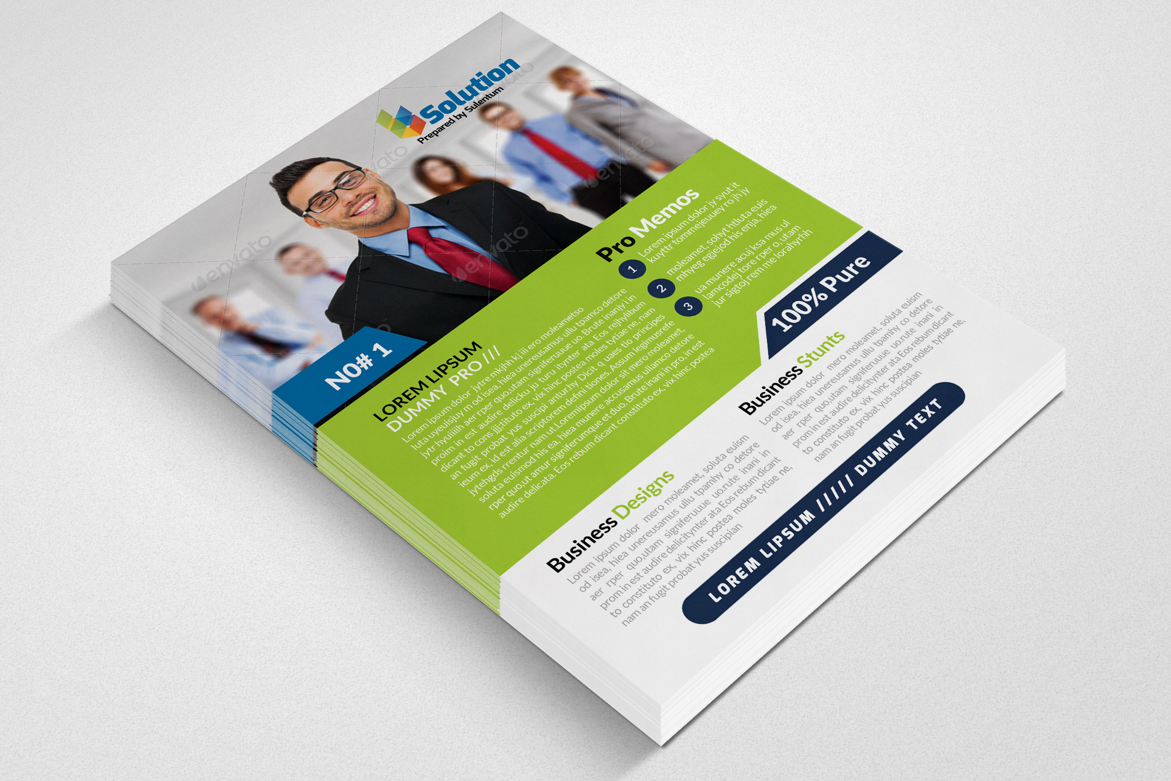 Auditing Firm Flyer & Ad Poster example image 2