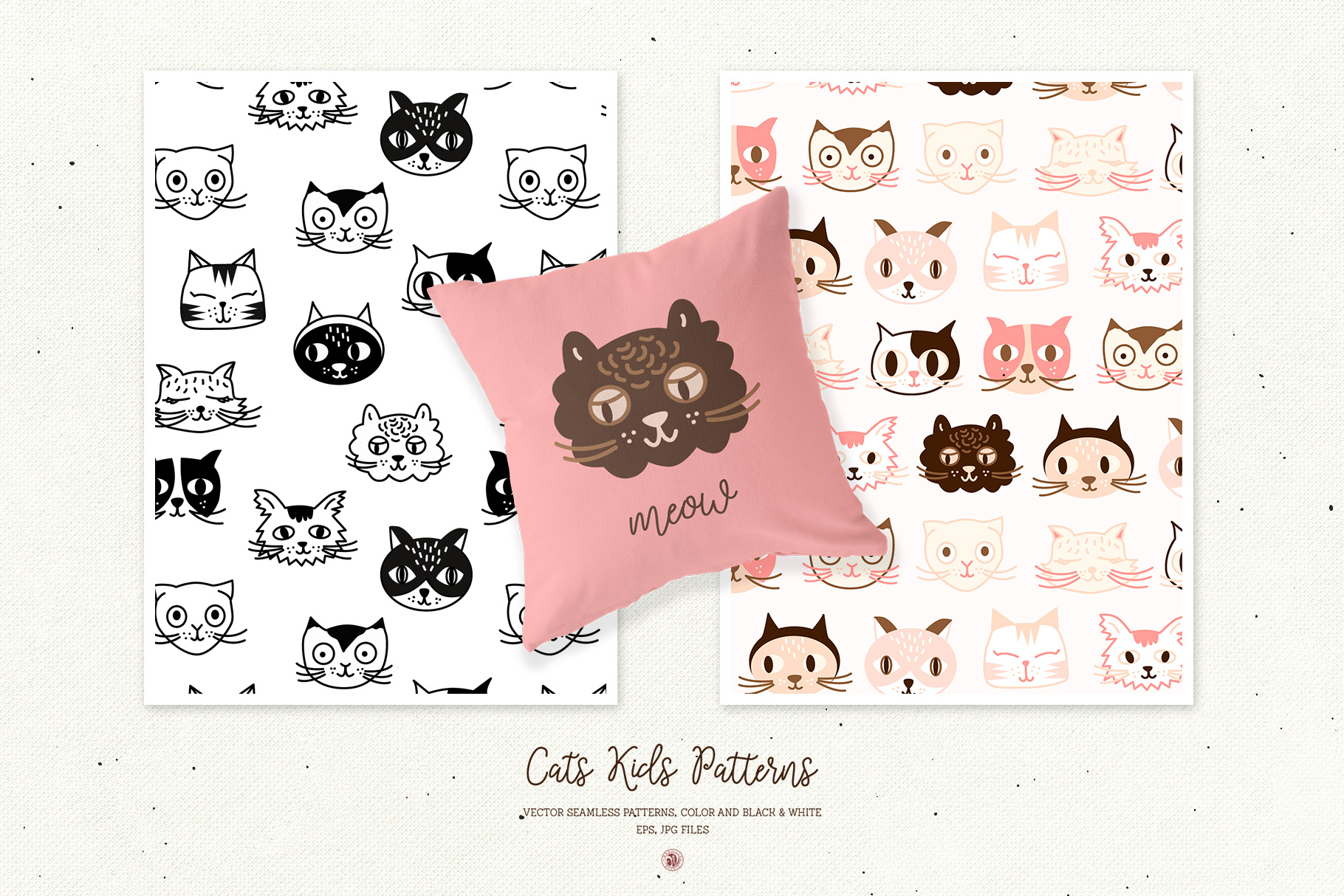 Cats Kids Patterns example image 3