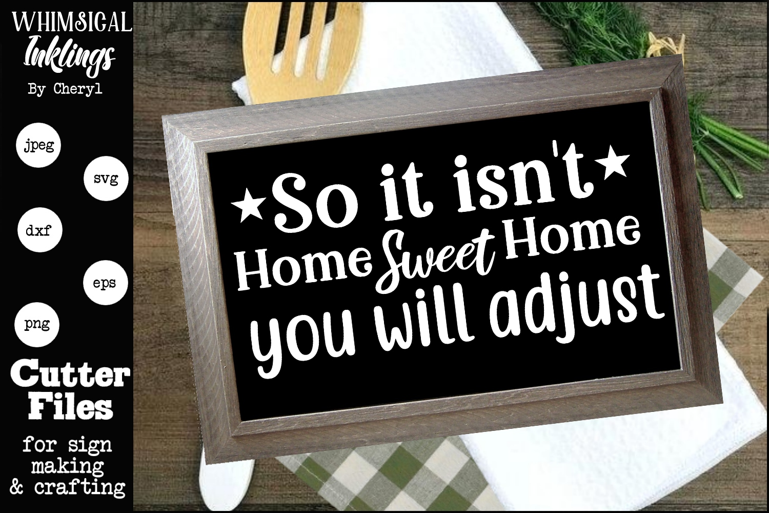 So It Isnt Home Sweet Home SVG example image 1