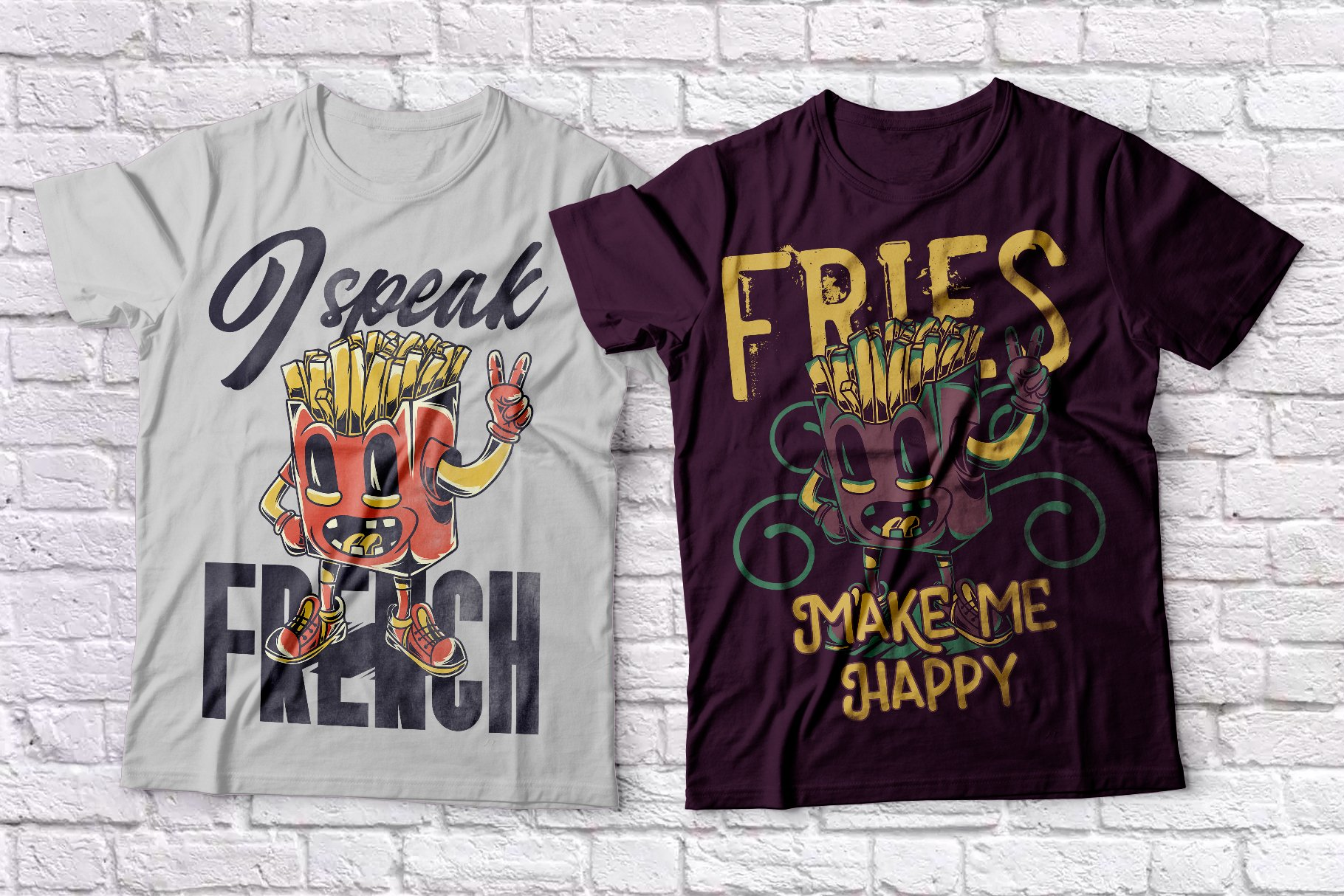 Fast Food T-shirts example image 3