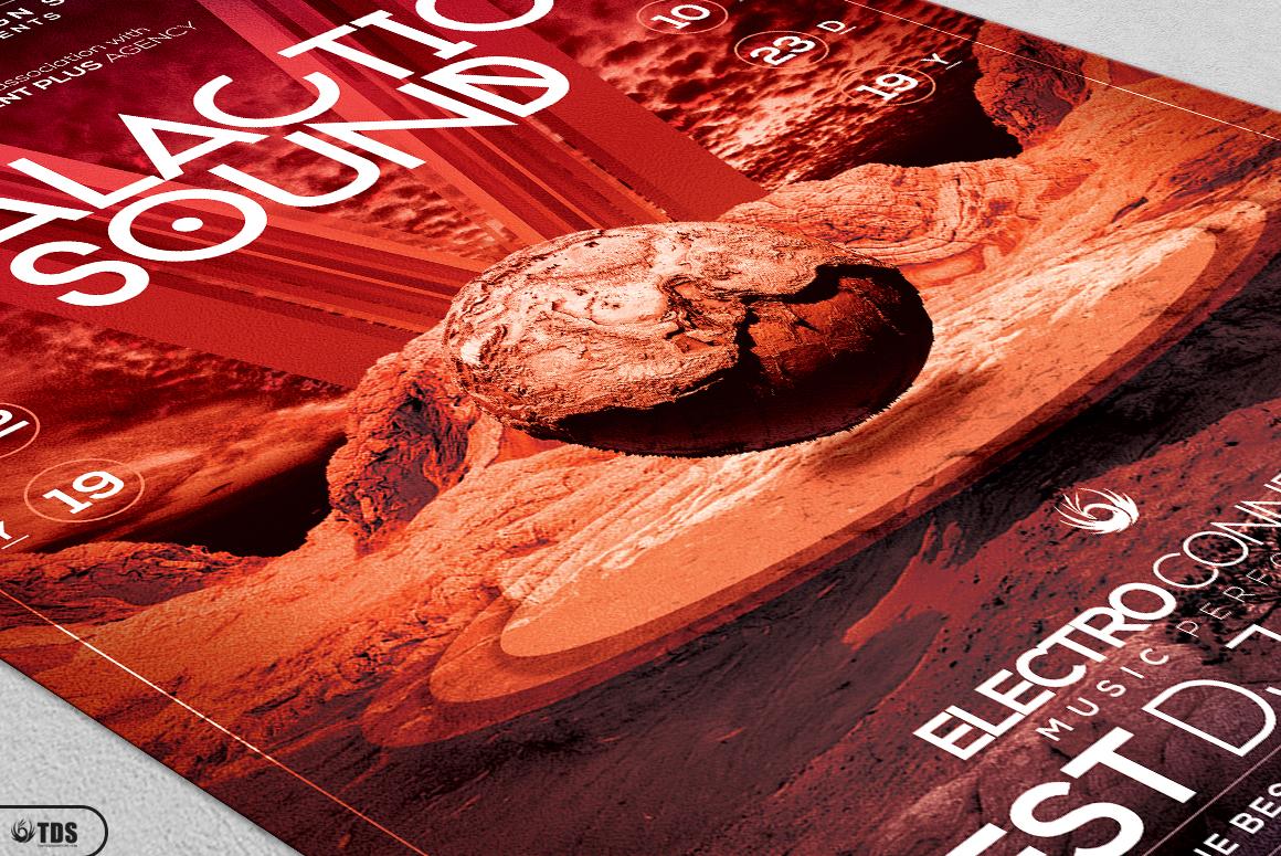 Galactic Sound Flyer Bundle example image 18