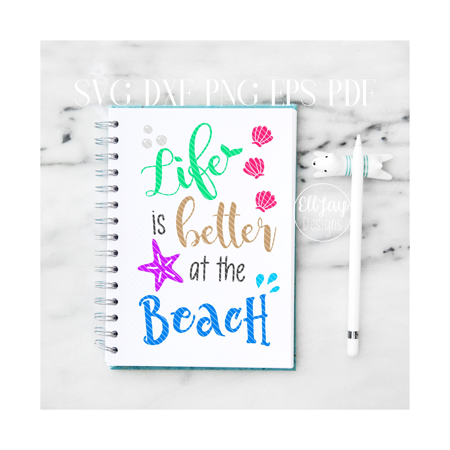 Life is Better at the Beach example image 1