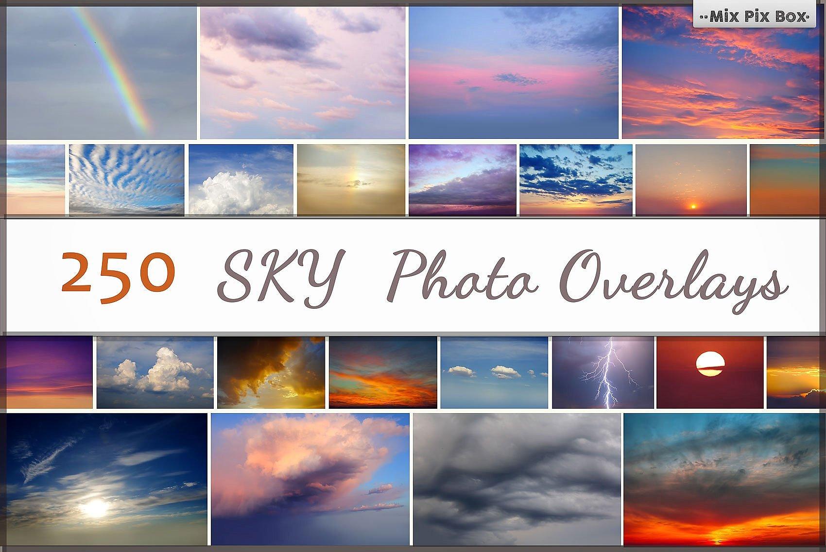 900 Photo Overlays Bundle example image 6
