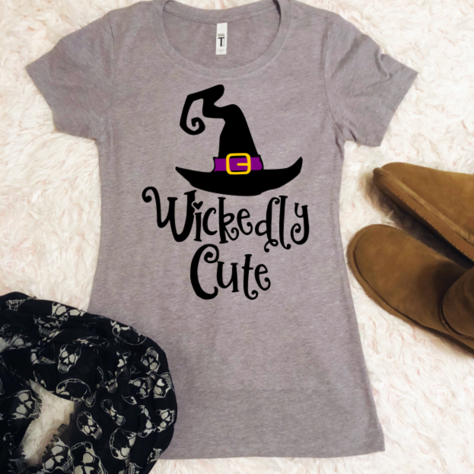 Wickedly Cute- Halloween SVG / DXF example image 3