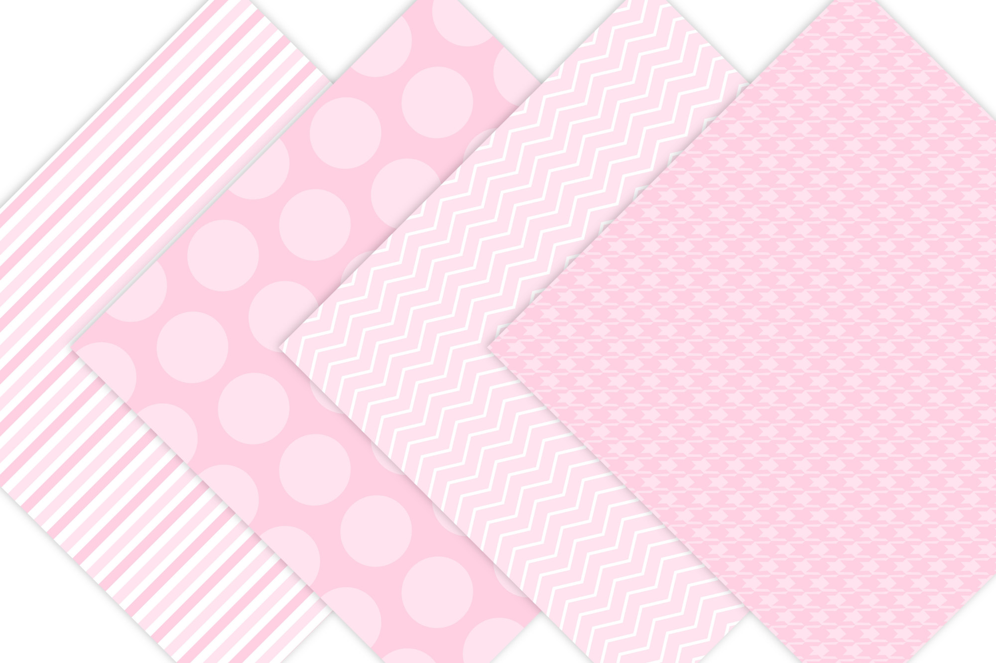 Pink Digital Paper backgrounds example image 2