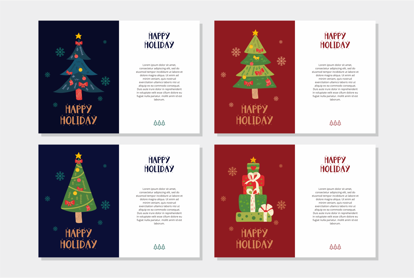 Little Santa Font | merry christmas font | 8 christmas cards example image 3