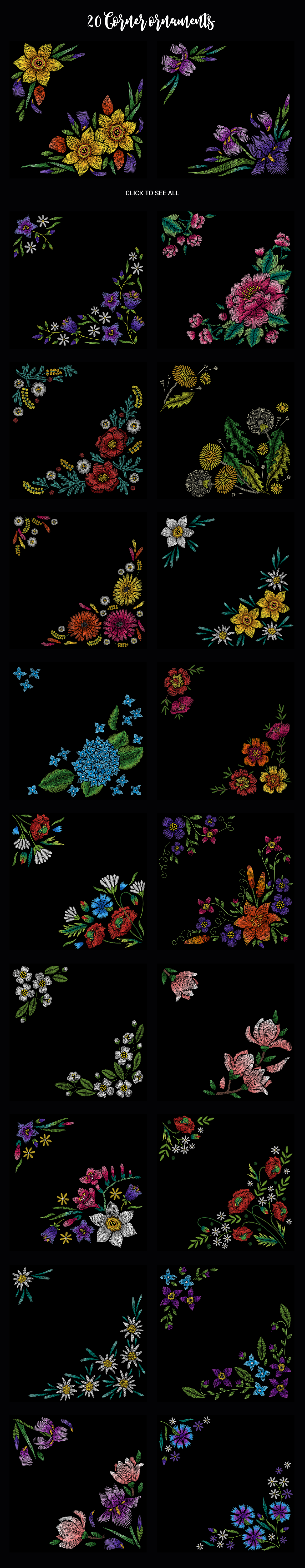 Embroidery Mega Bundle example image 8