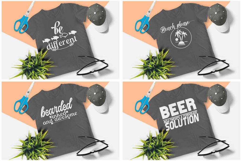 200 Printready Tshirt Design Mega Bundle example image 3
