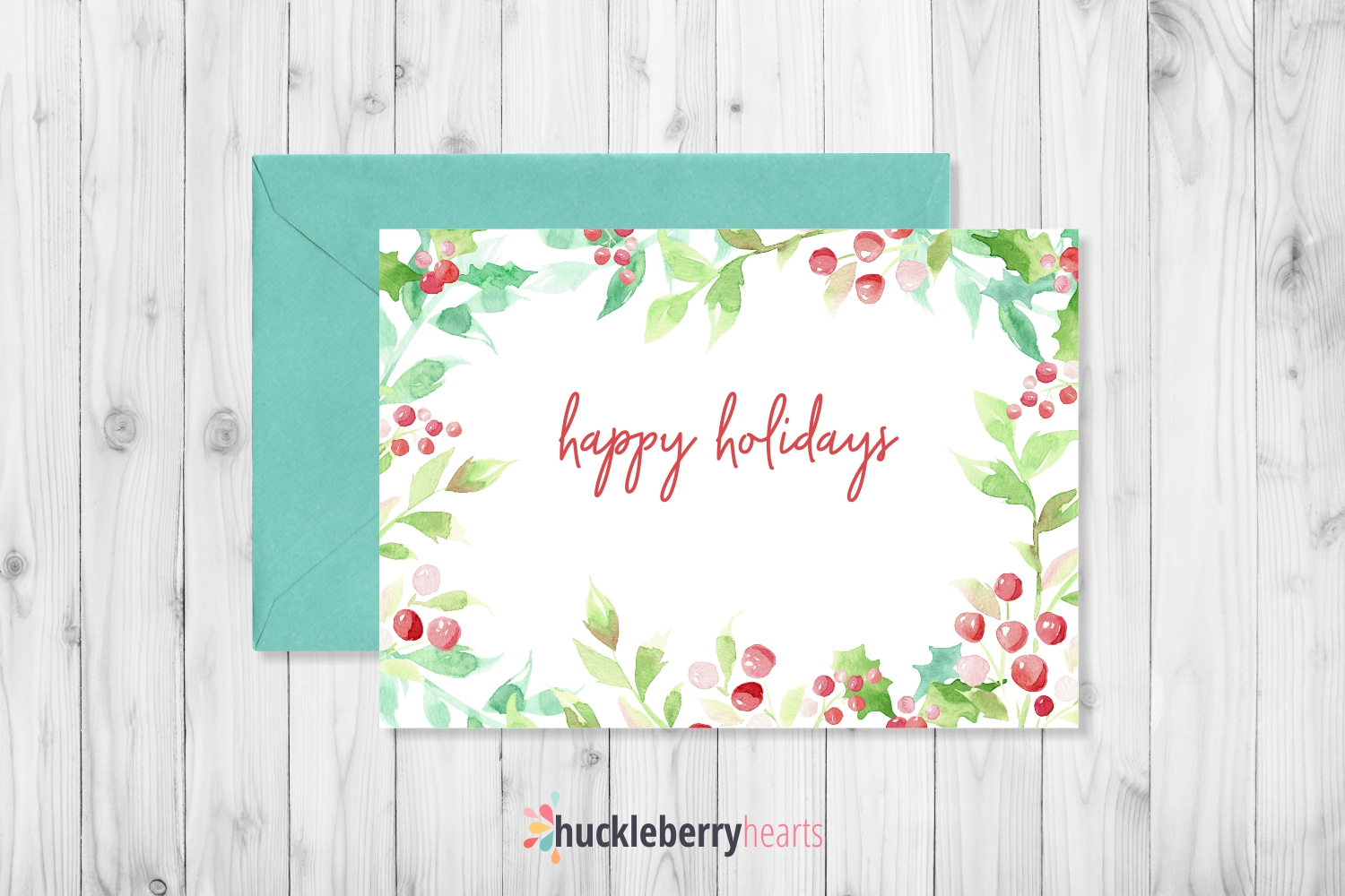Christmas Watercolor Clipart example image 5