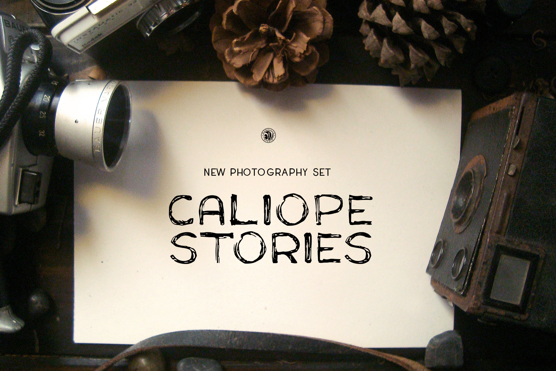 Caliope Font example image 2