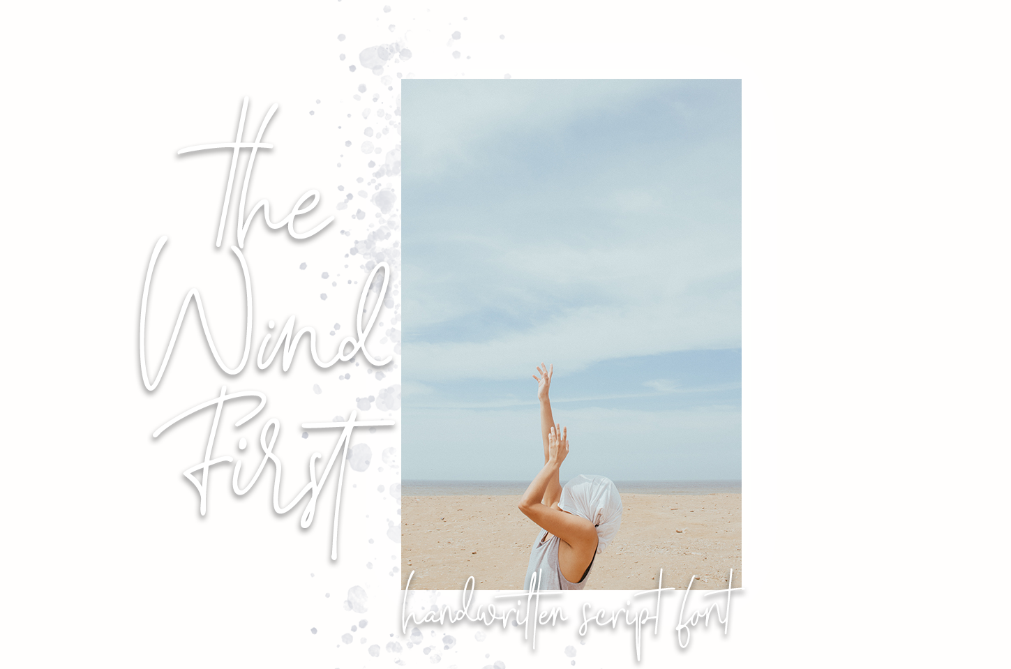 The Wind First - script font example image 5