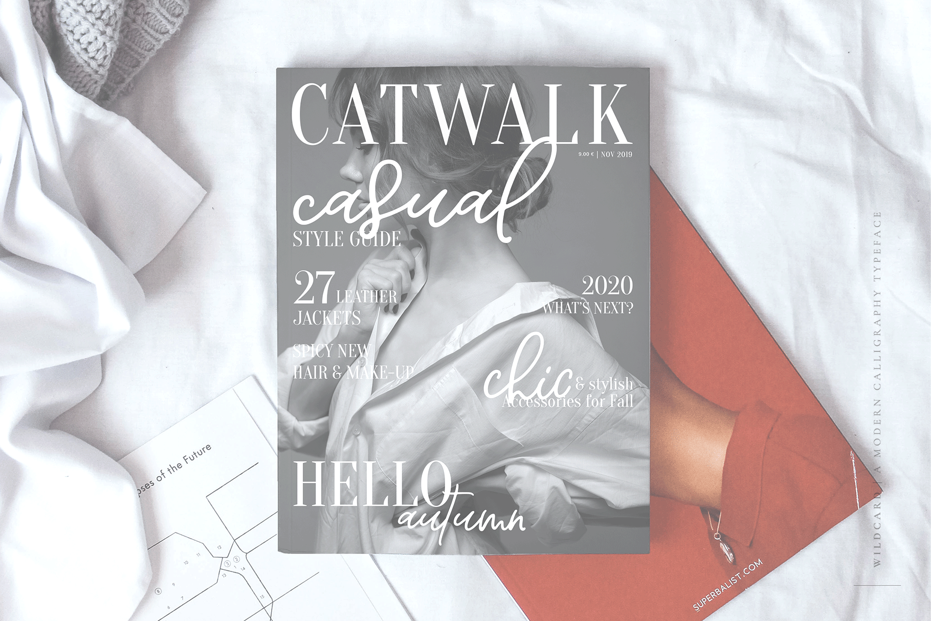 Wildcard | A Modern Calligraphy Script example image 6