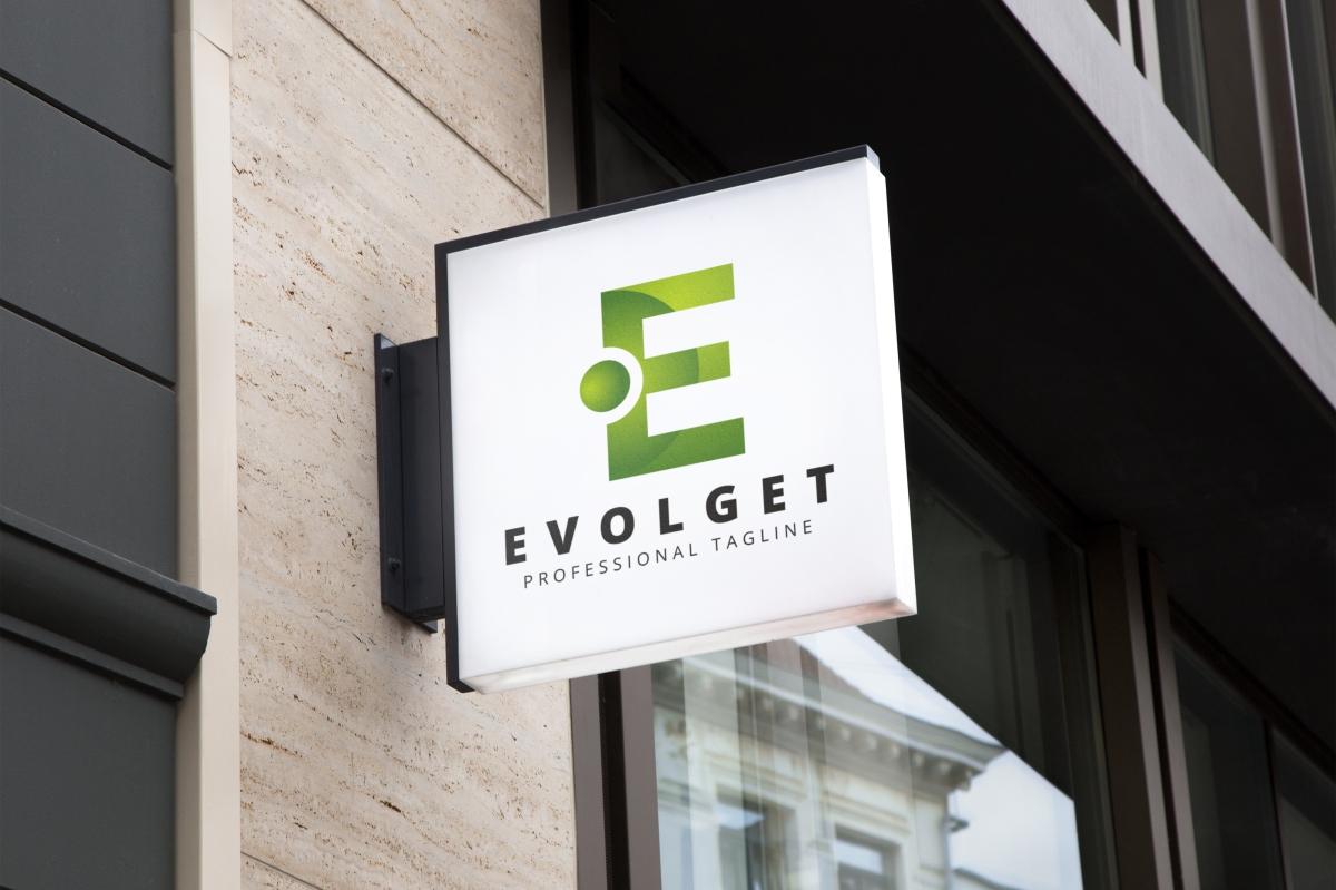 Evolget E Letter Logo example image 4