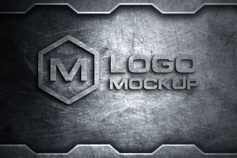 3D Logo Mock-up Bundle example image 4