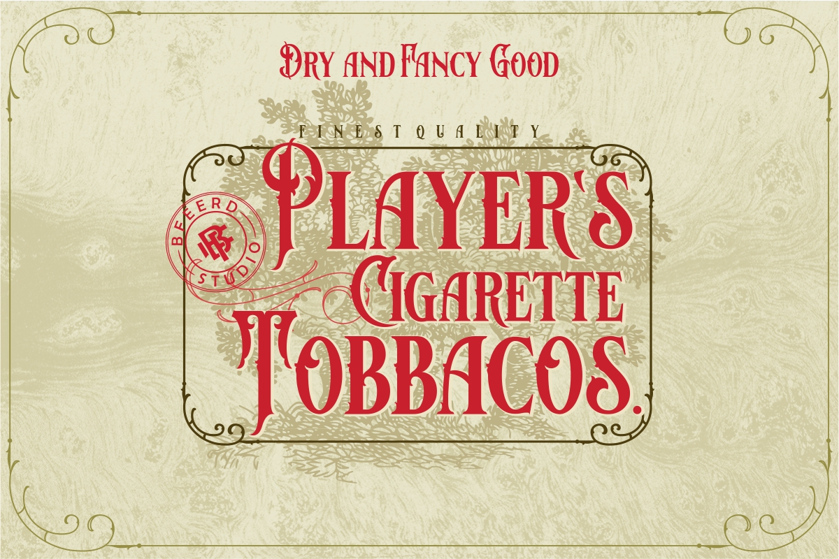 Bloves Vintage Typeface example image 5
