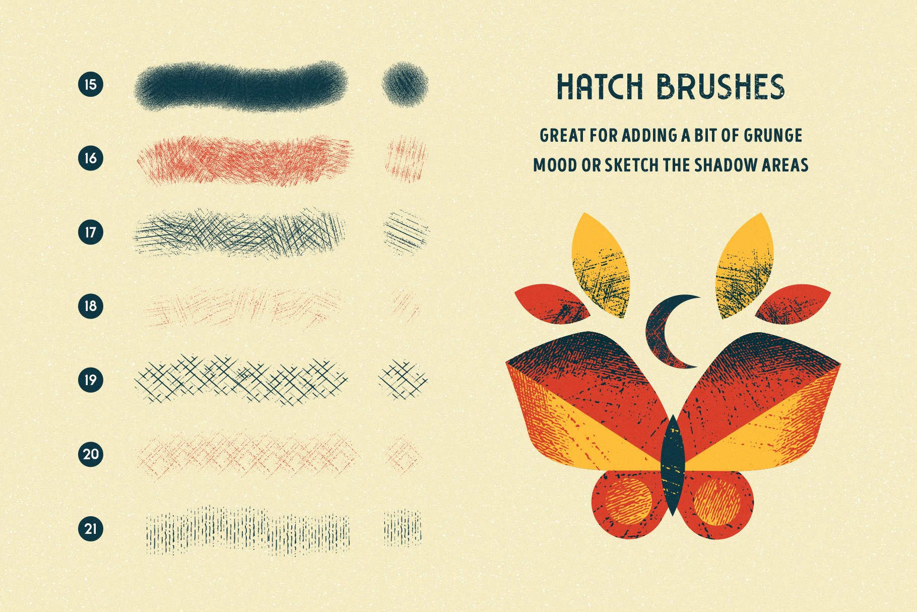 Shader Brushes for Procreate example image 4