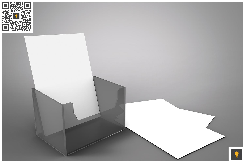 Flyer Holder 3D Render example image 6