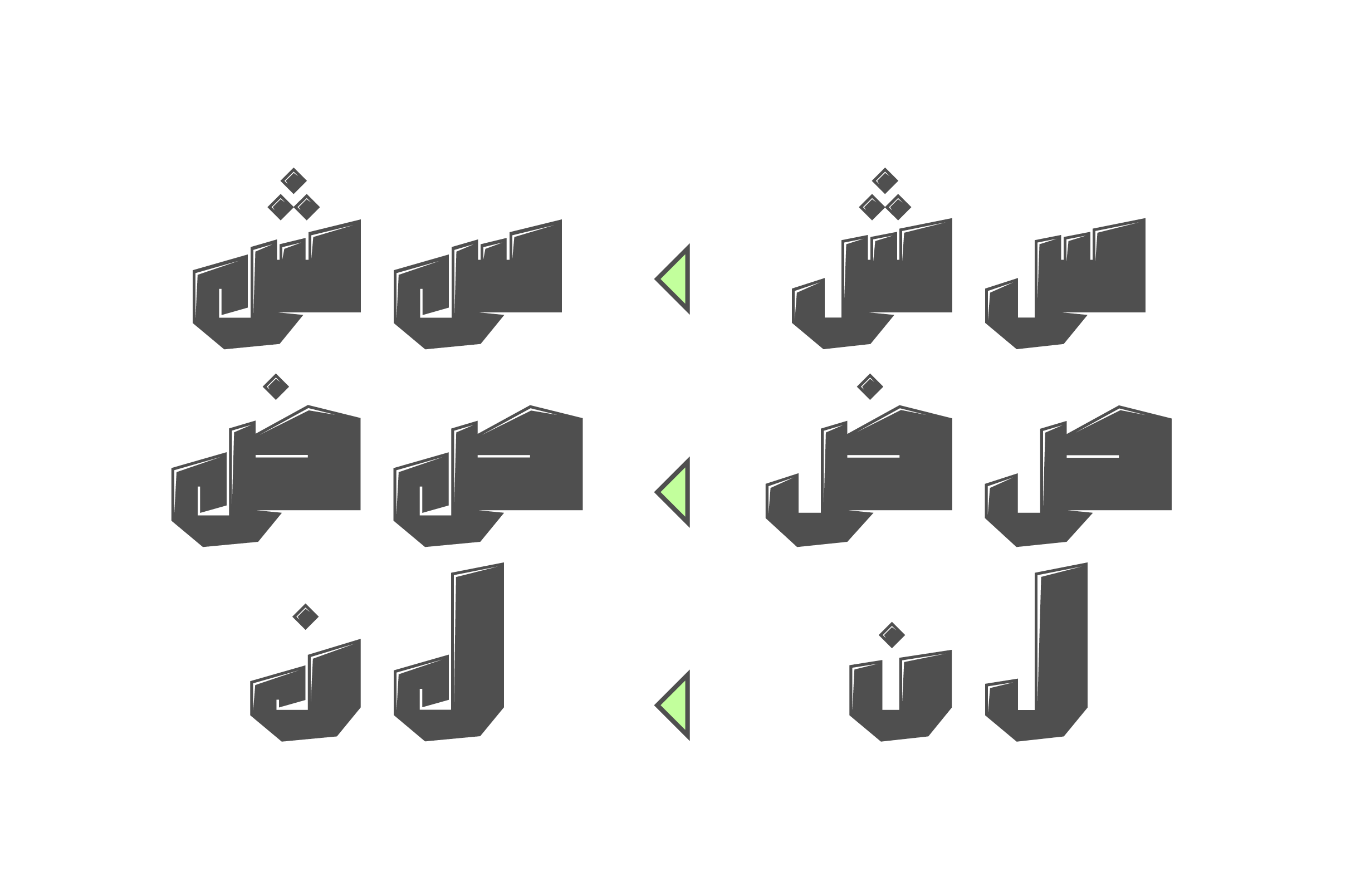 Dahka - Arabic Font example image 6