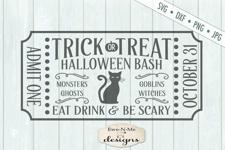 Halloween Mini Bundle - Trick or Treat - Black Cat - SVG DXF example image 8