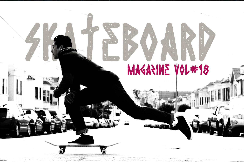 Die Hard Typeface example image 2
