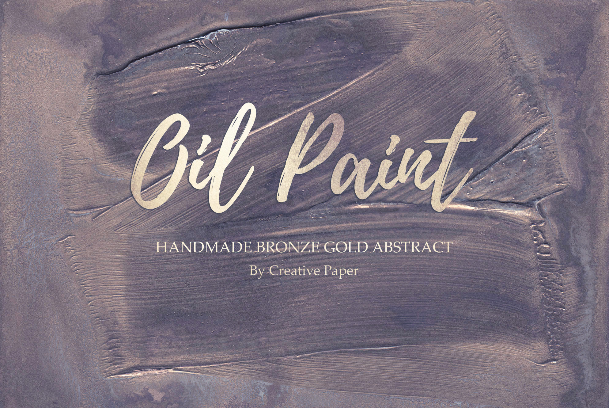 Oil Paint and Marble Textures BUNDLE example image 2