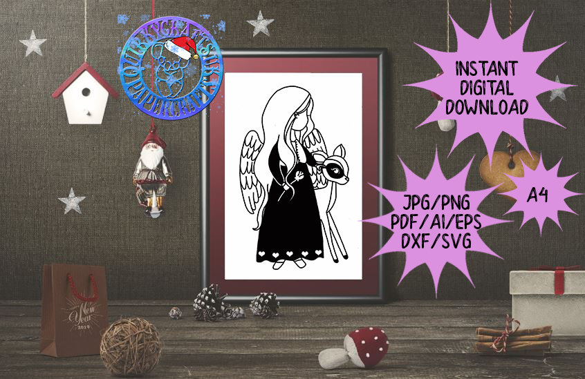 60 brand new ADVENT Templates jpg/png/ai/dxf/svg example image 5