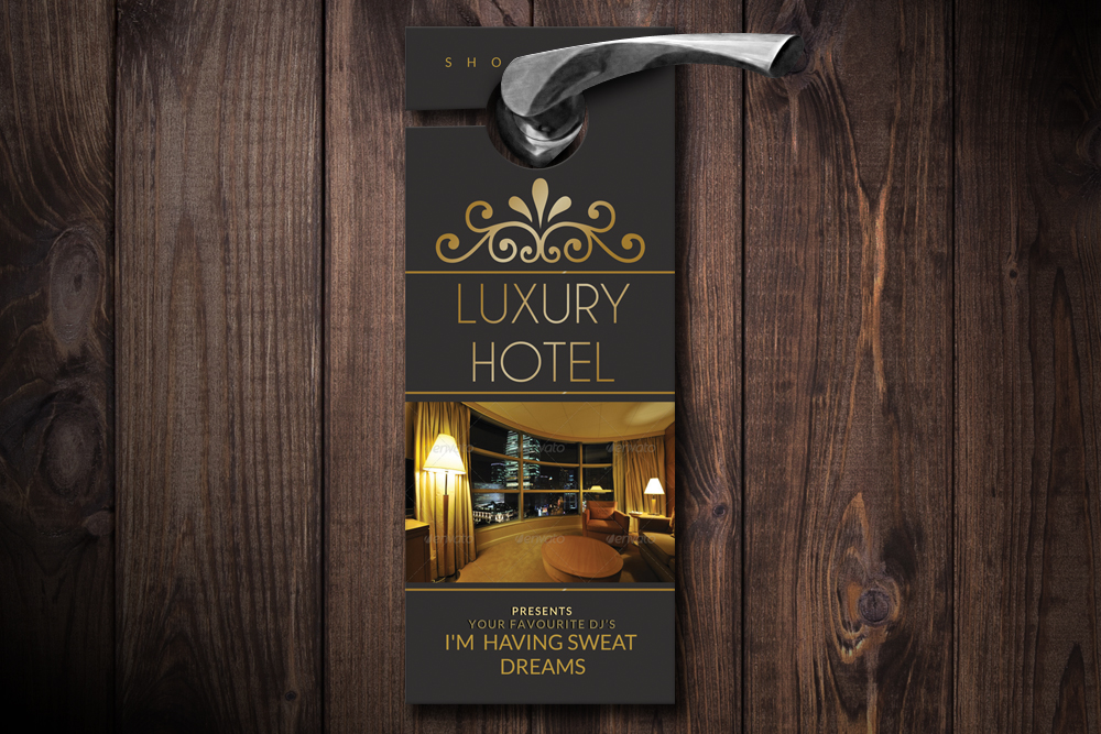 Hotel Room Door Hangers example image 1