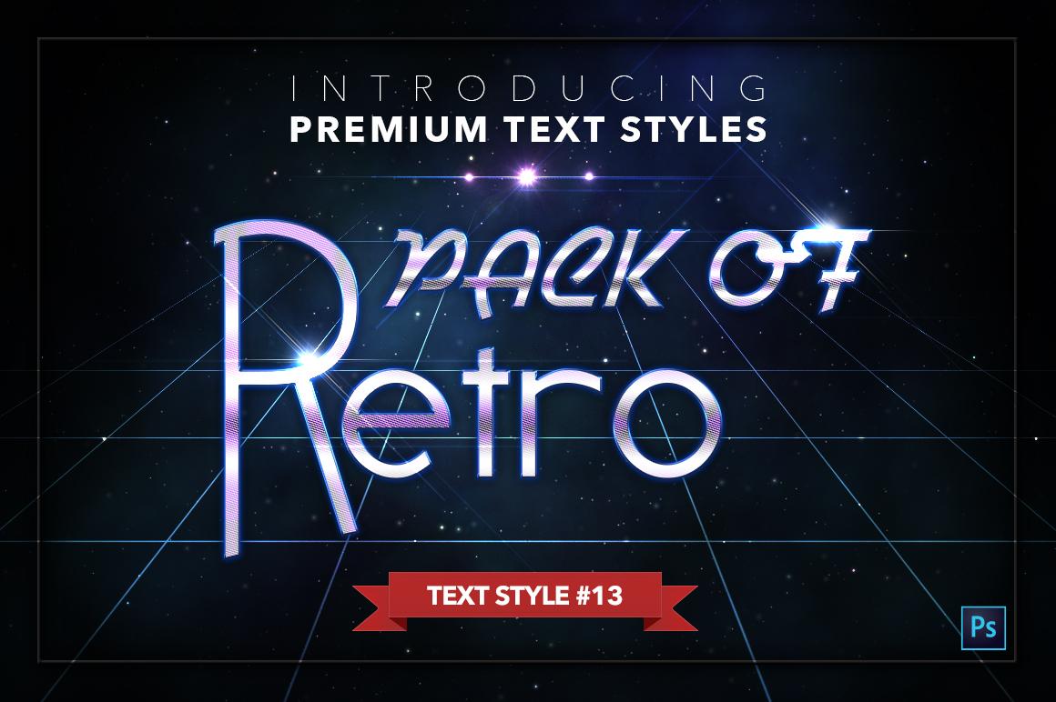 Retro #1 - 20 Text Styles example image 14