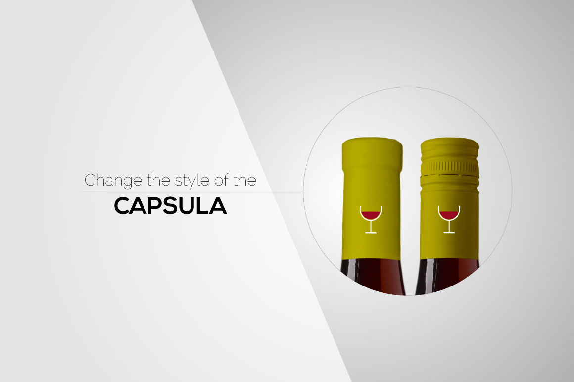 All-In-One Wine Bottle Mockup example image 4