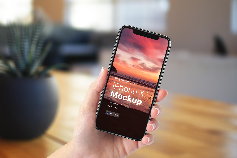 Presentation Kit - iPhone showcase Mockup_v7 example image 4