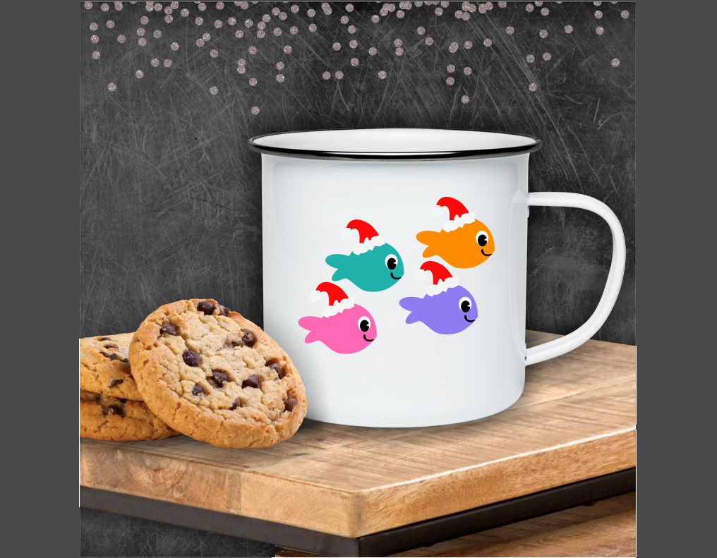 Christmas Under The Sea Bundle! Mermaids, Sharks, Much More! example image 6