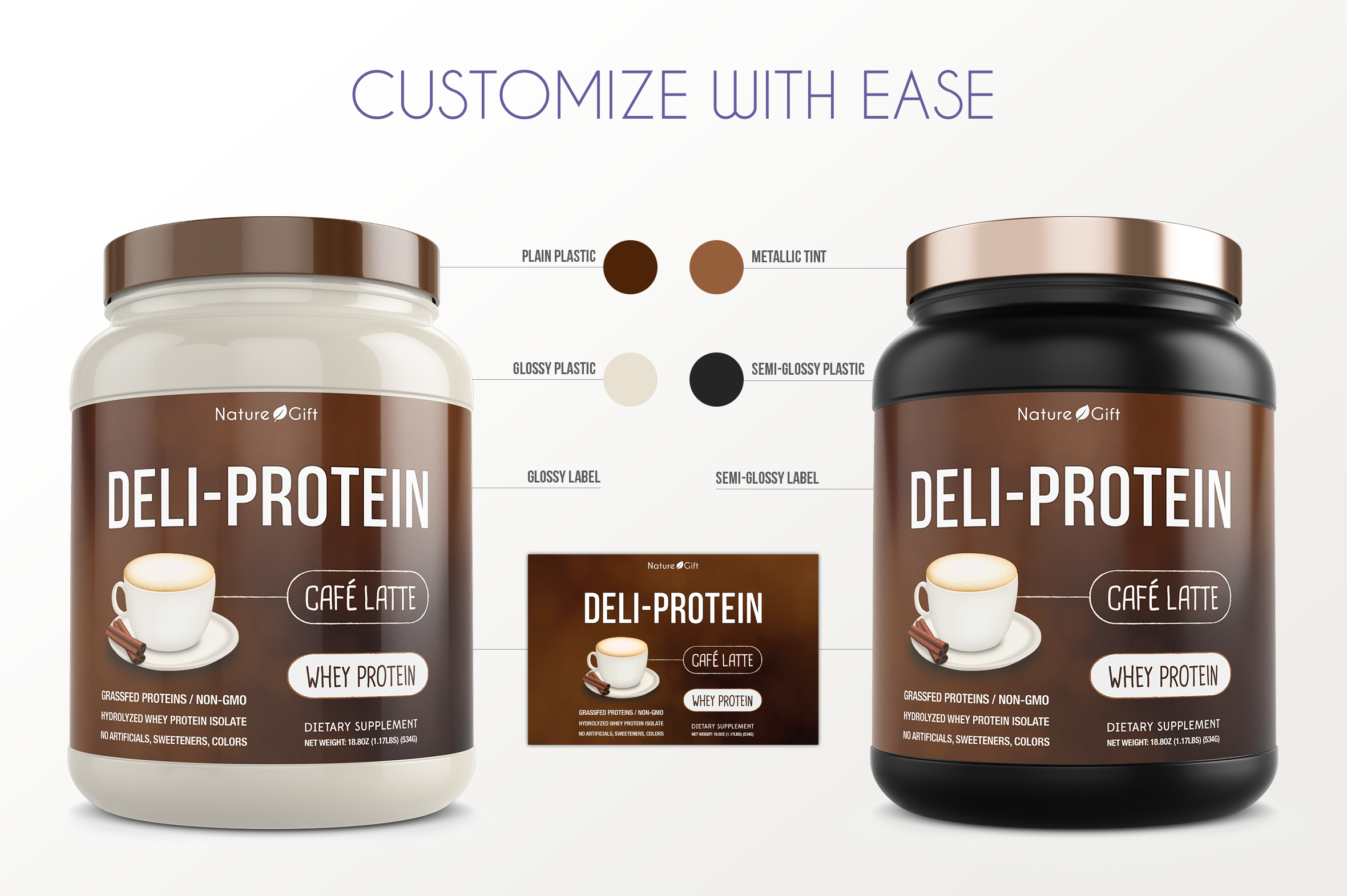Protein Jar Mockup vol. 1A Plus example image 2