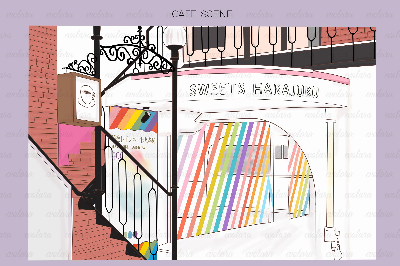 Kawaii Clipart Cute Clipart Pastel Tokyo Japan Fashion example image 2