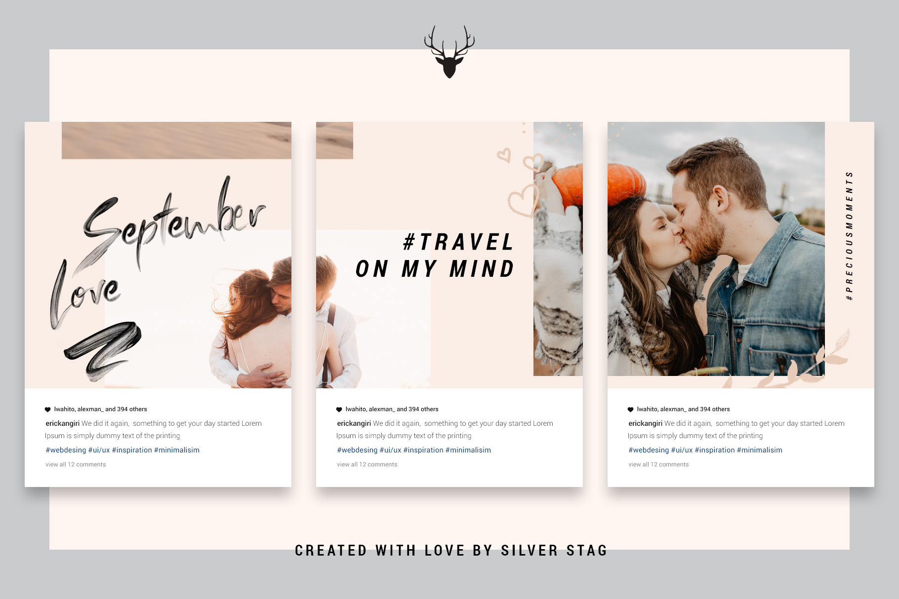 InstaGrid 5.0 - Creative & Modern Instagram Puzzle Template example image 4