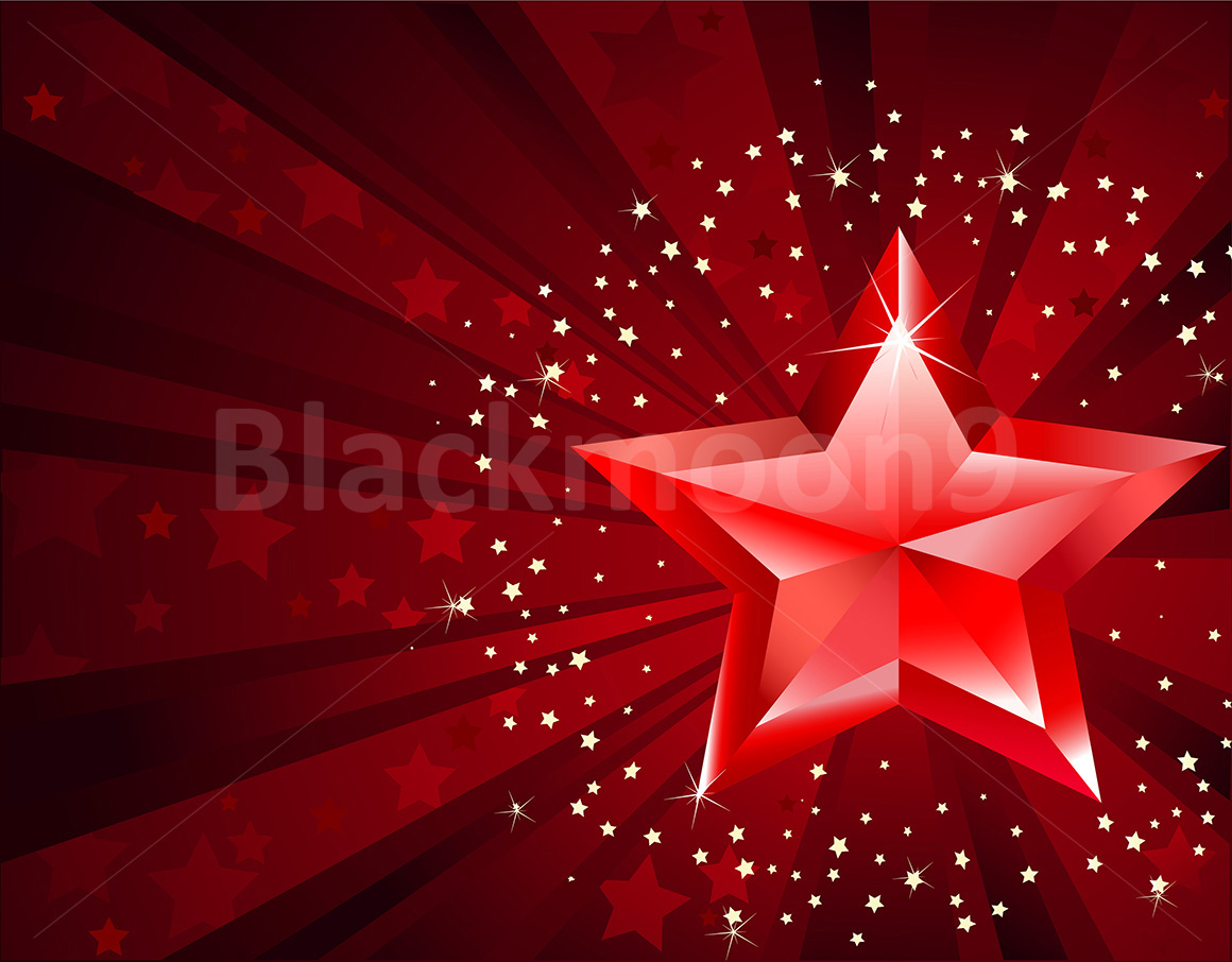 Red Pure Star example image 1