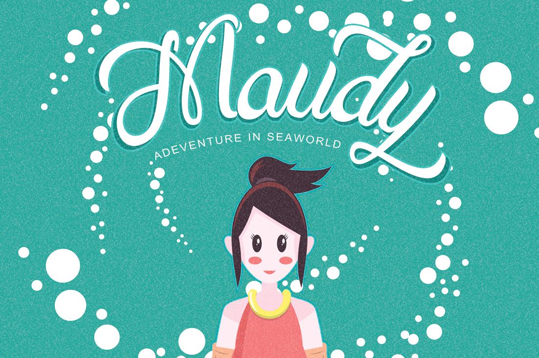 Maudy Script + Bonus example image 3