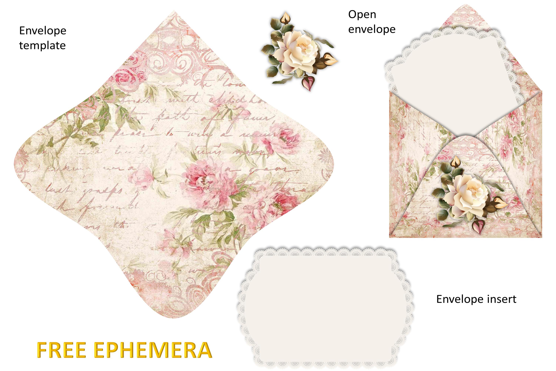 Printable Journaling Kit Victorian with FREE EPHEMERA cu example image 12