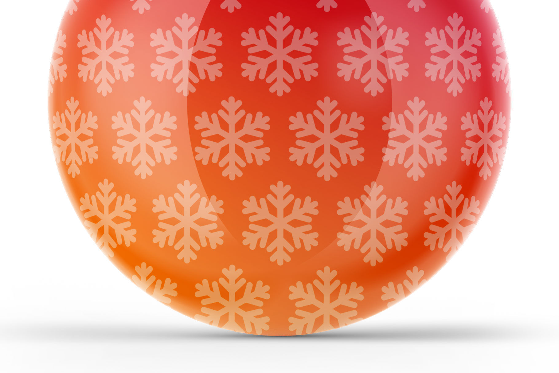 Glossy Christmas Ball Mockup example image 6
