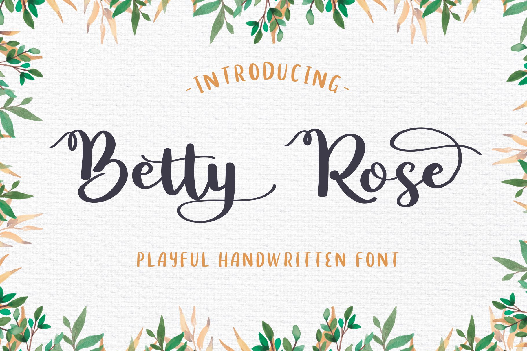 Download Betty Rose - Handwritten Font (185189) | Script | Font Bundles