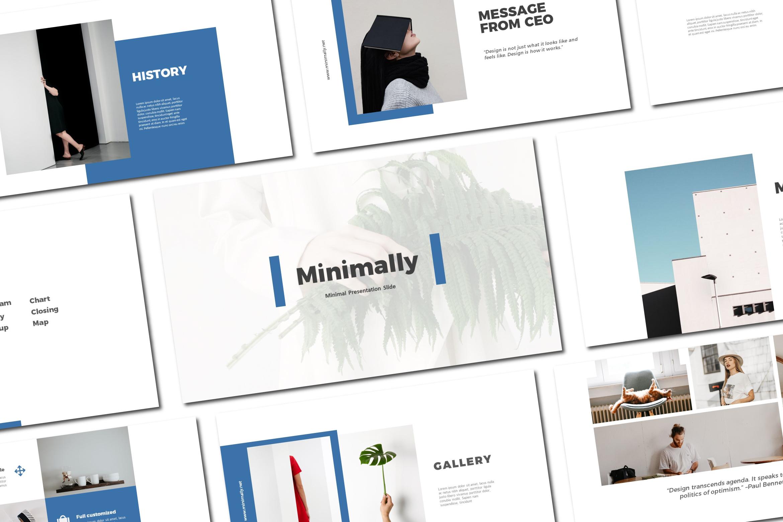 Minimally - Keynote Templates example image 1