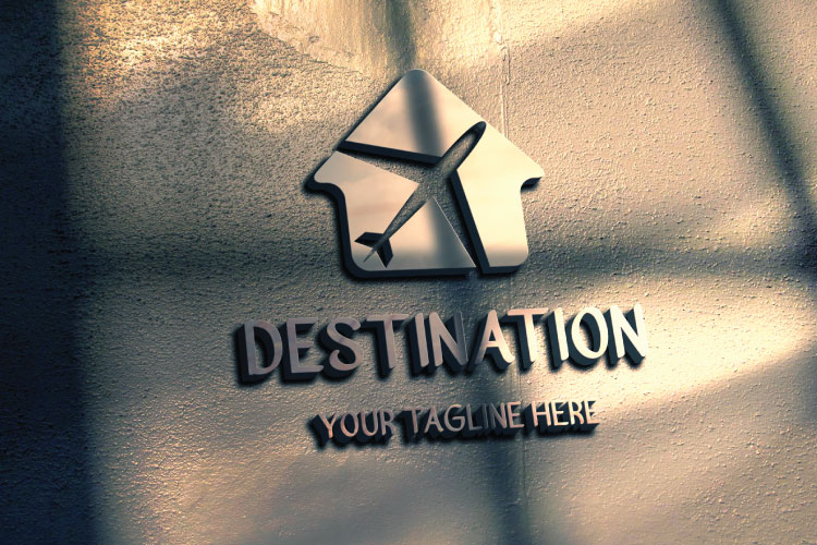 Travel Hut Shape Logo example image 3