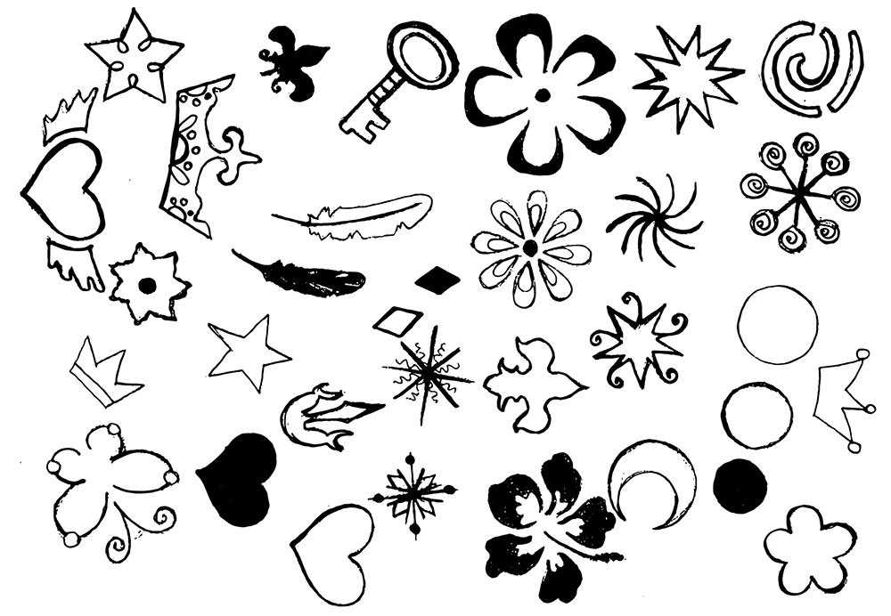 Magic Winter Watercolor Pack example image 6