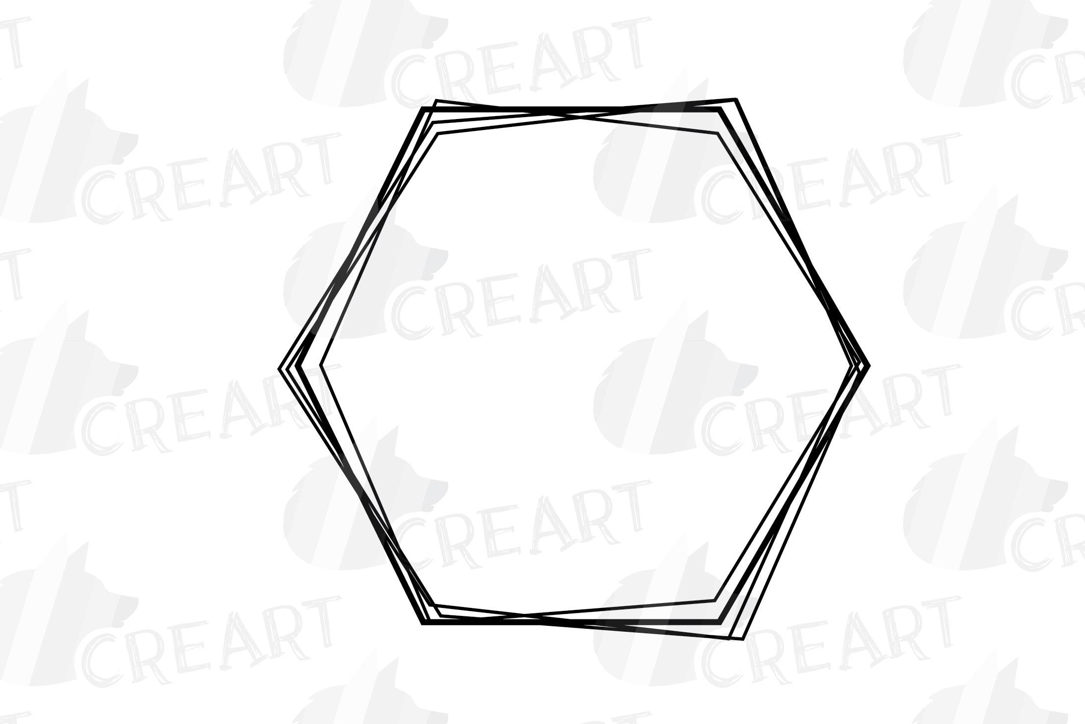 Geometric lineal black frames decor clip art. Wedding border example image 14
