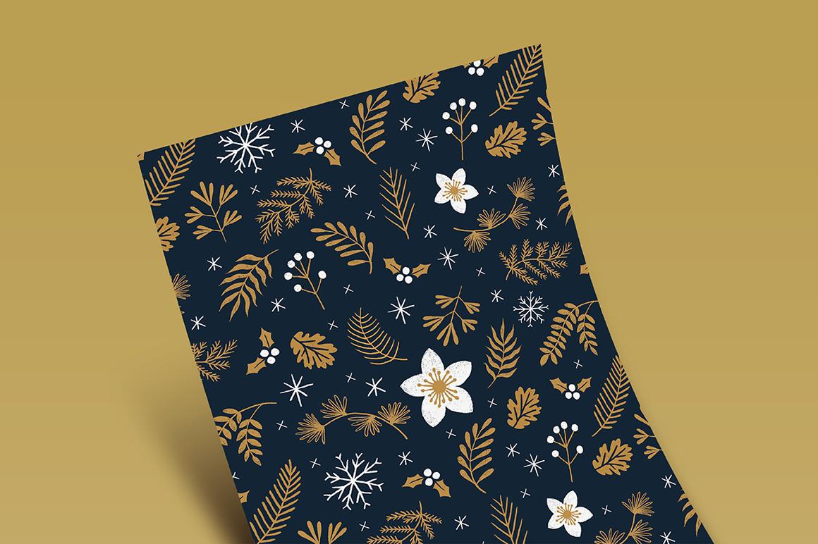 Elegant Christmas Graphic Set example image 6