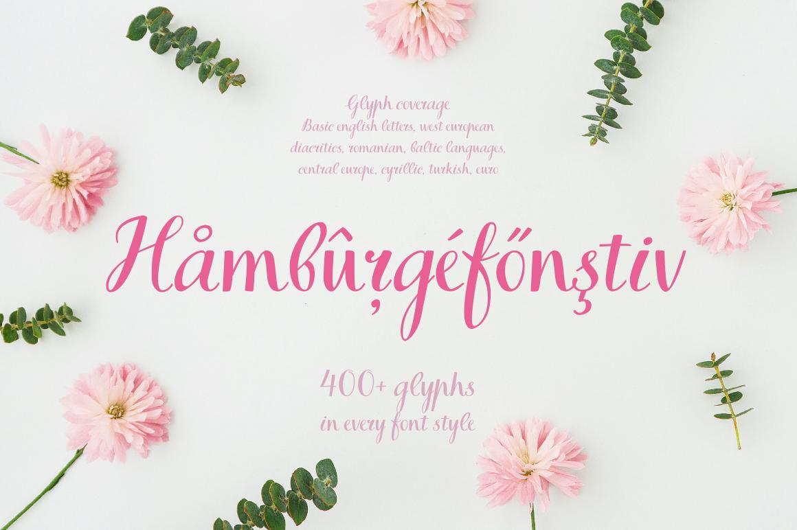 Books Script—handwritten font example image 2