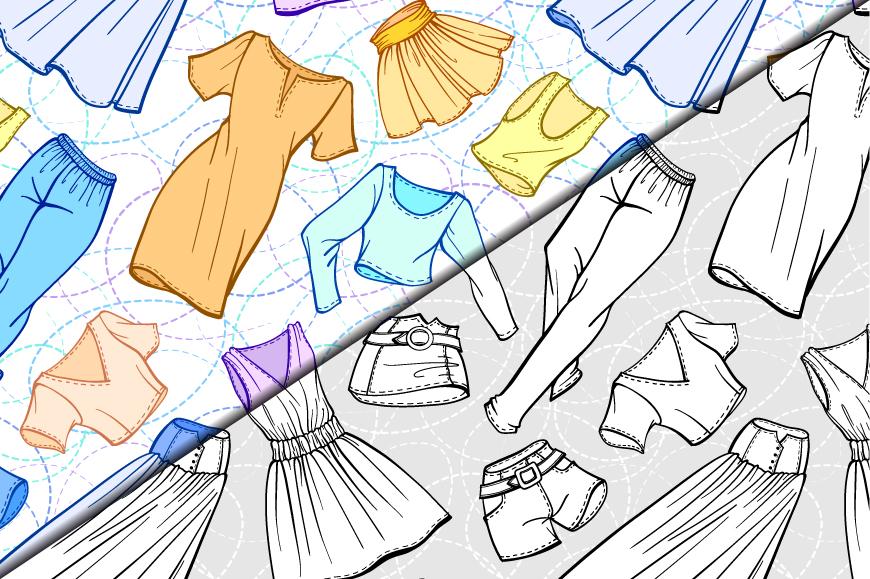 Fashion elements set example image 4