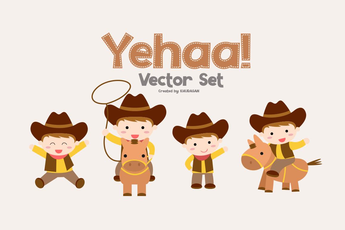 Yehaa! Layered Font example image 5