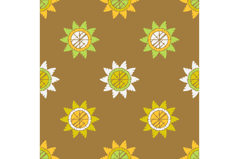 Polka dot ornament. Set of 10 seamless patterns. example image 8