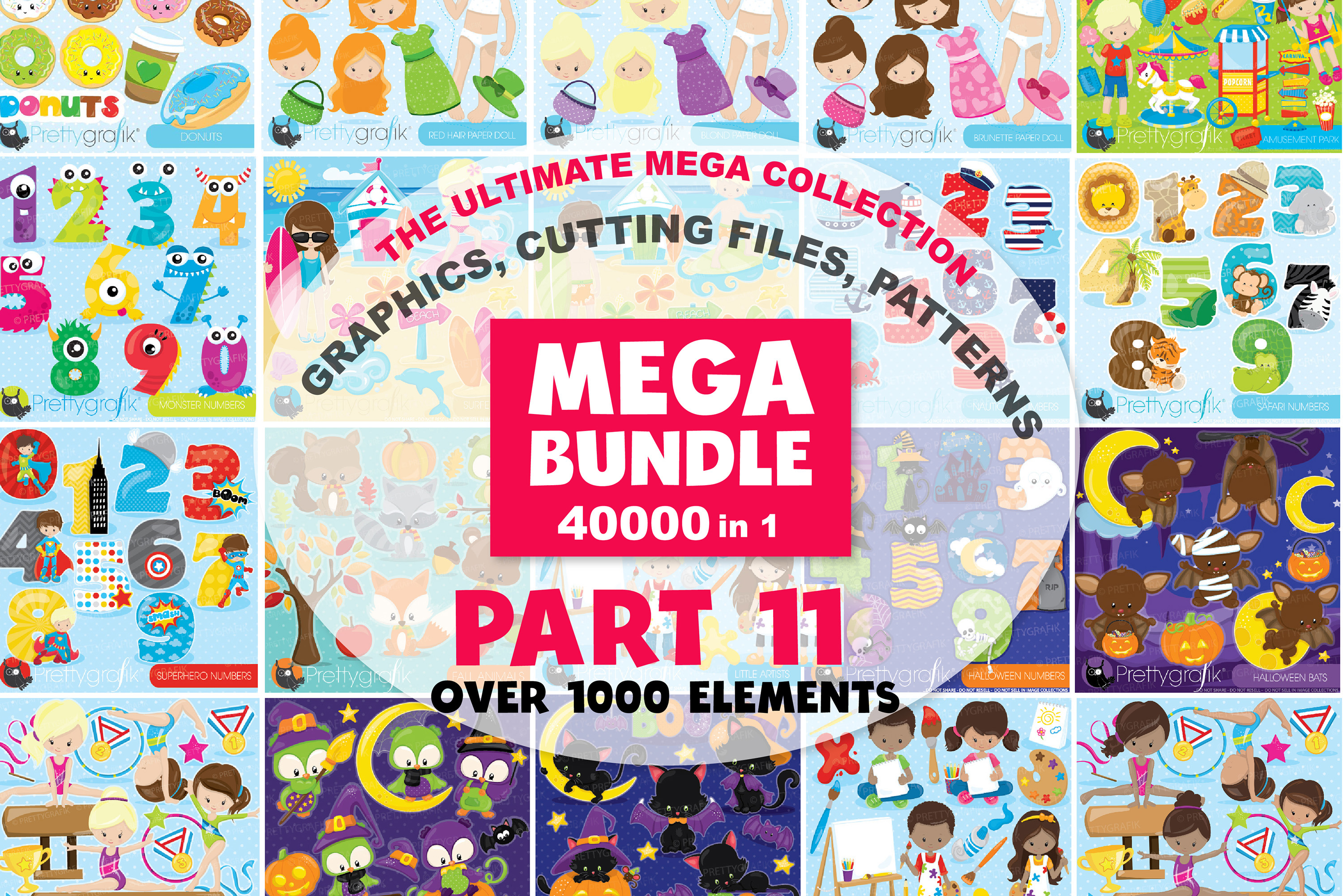 MEGA BUNDLE PART11 - 40000 in 1 Full Collection example image 1
