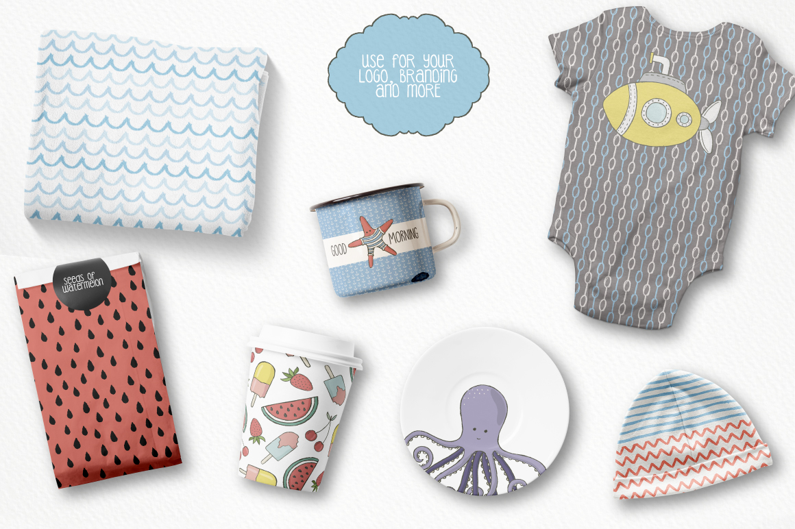 Cute Sea Collection example image 5
